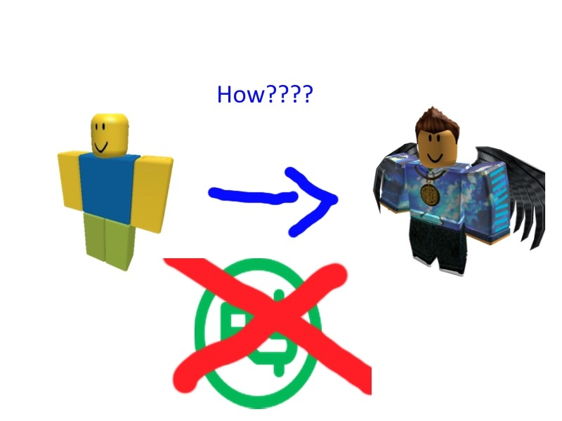 How To Make A Decent Outfit For Your Roblox Avatar Roblox
